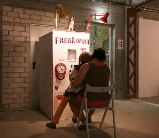 Kühlhaus Berlin // Katalin Pöge // Freakomat