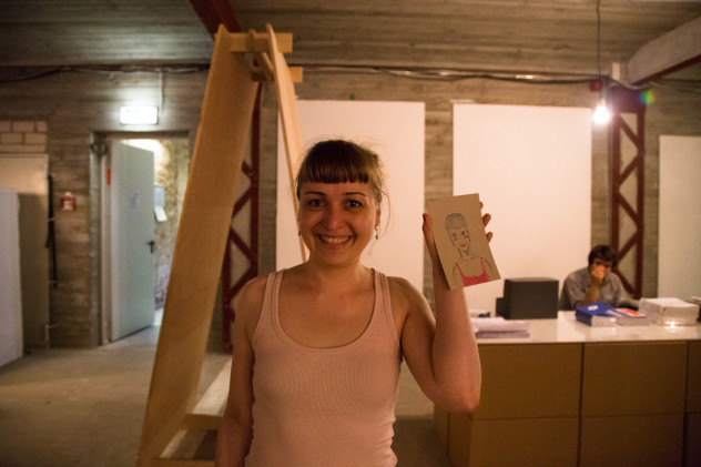 Katalin Pöge// Kühlhaus Berlin// Freakomat