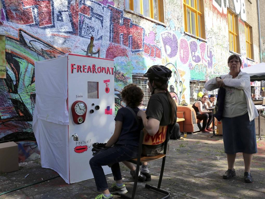 Der Freakomat auf dem KUBIZ Sommerfest