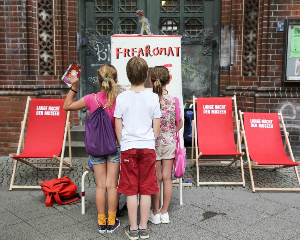 Freakomat im MACHmit! Museum Katalin Pöge Michael Zander