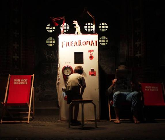 Freakomat // Lange Nacht der Musen // Katalin Pöge